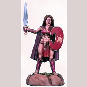 Female Warrior with Sword