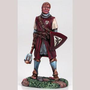 Male Cleric with Mace & Shield