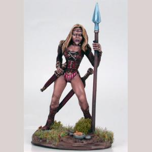 Female Beastmaster with Spear