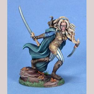 Female Wood Elf Warrior