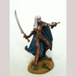 Female Dark Elf with Hand Crossbow
