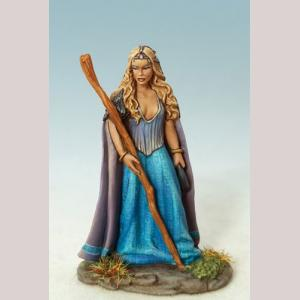 Female Mage / Druid with Staff