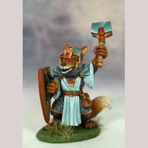 Fox Cleric with Mace
