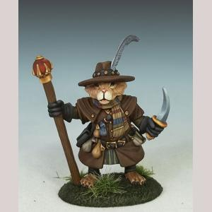 Hamster Mage with Staff