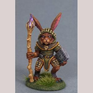 Rabbit Druid with Staff