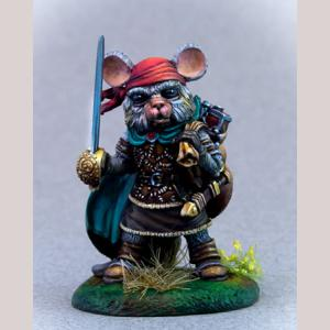 Mouse Swashbuckler with Rapier