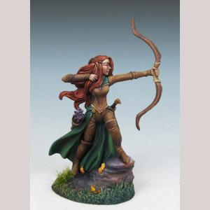 Female Elven Ranger with Bow