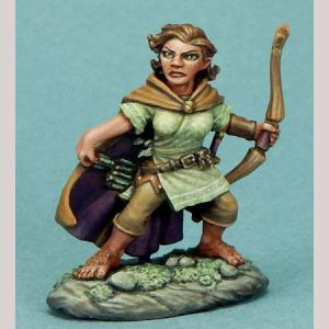 Female Halfling Ranger with Bow