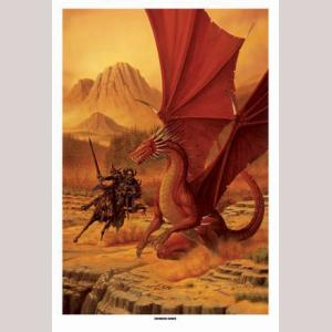 Crimson Dawn, Limited Edition Print
