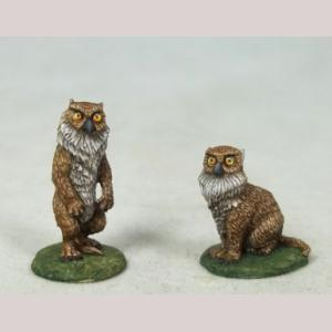 Owl Bear Cubs - Male and Female