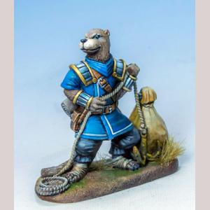 Otter Rogue with Loot