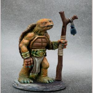 Tortoise Druid with Staff