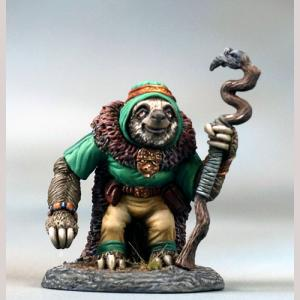 Sloth Druid with Staff