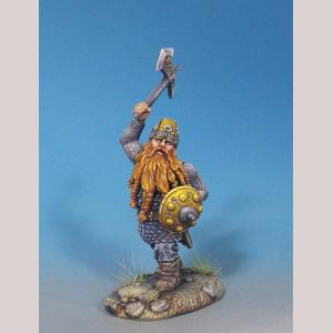 Male Dwarven Warrior with Battle Axe