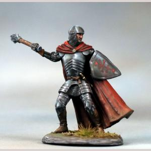 Male Cleric with Mace and Shield