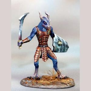 Dragonkin Warrior with Sword and Shield