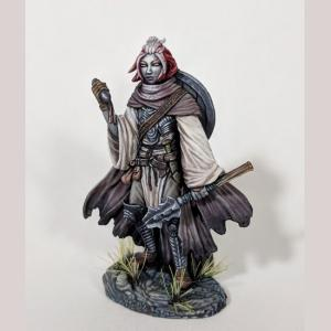 Female Cleric with Mace