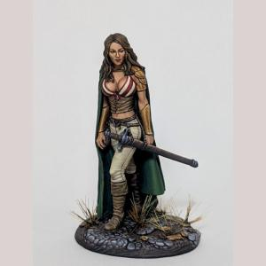Female Rogue with Long Sword
