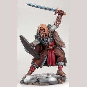Wildling Warrior with Long Sword and Shield