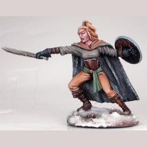 Wildling Spearwife with Short Sword and Shield