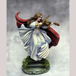 Female Bard with Violin