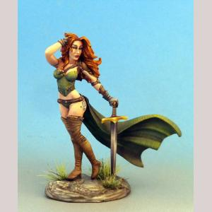 Pinup Female Warrior