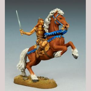 Male Mounted Warrior